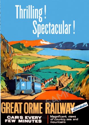 Great Orme Railway, Llandudno - North Wales